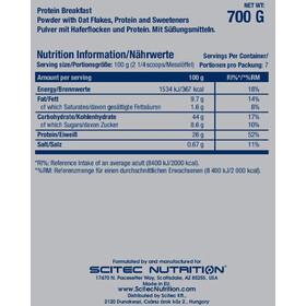SCITEC Protein Breakfast Polvo 700g, Strawberry